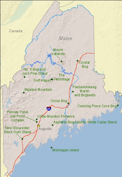 Map Of State Of Maine Tidal Treasures - State of maine map