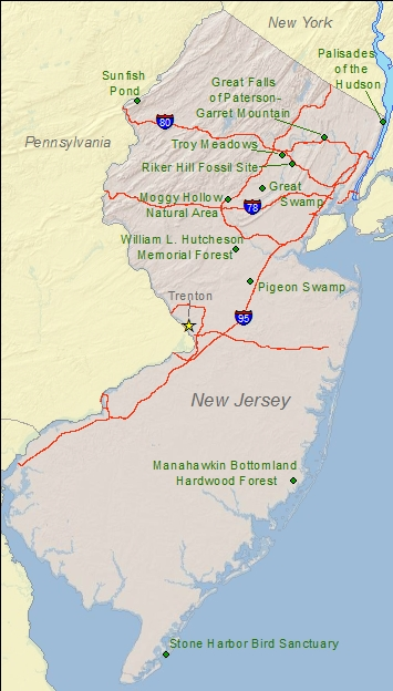 National Natural Landmarks by state - National Natural Landmarks ...