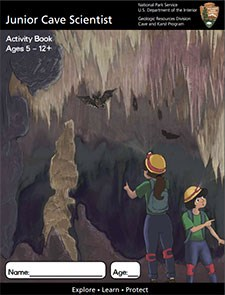 Jr Cave Scientists Activity Book