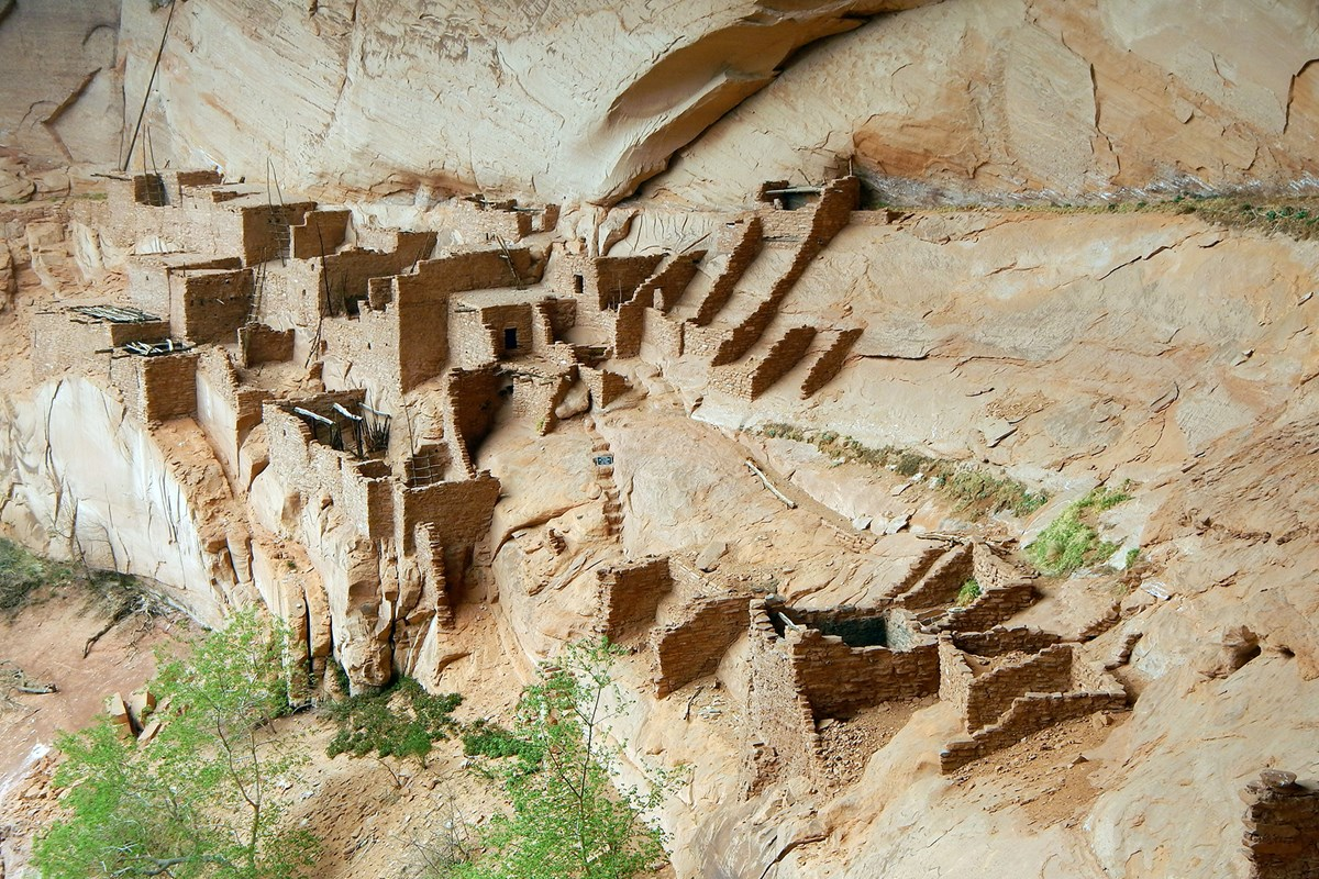 Betatakin Village is one of the three cliff dwelling sites protected by NPS.