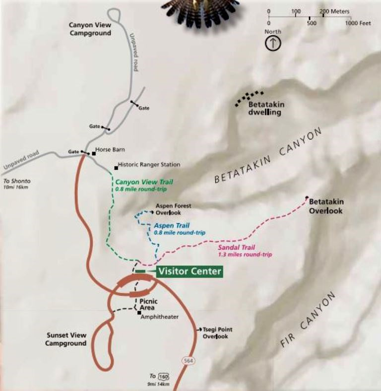 Maps - Navajo National Monument (U.S. National Park Service)