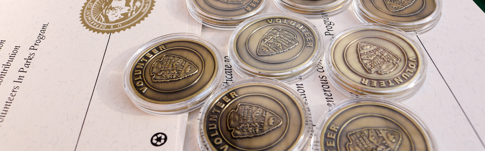 National Park Service Volunteer Recognition Coins