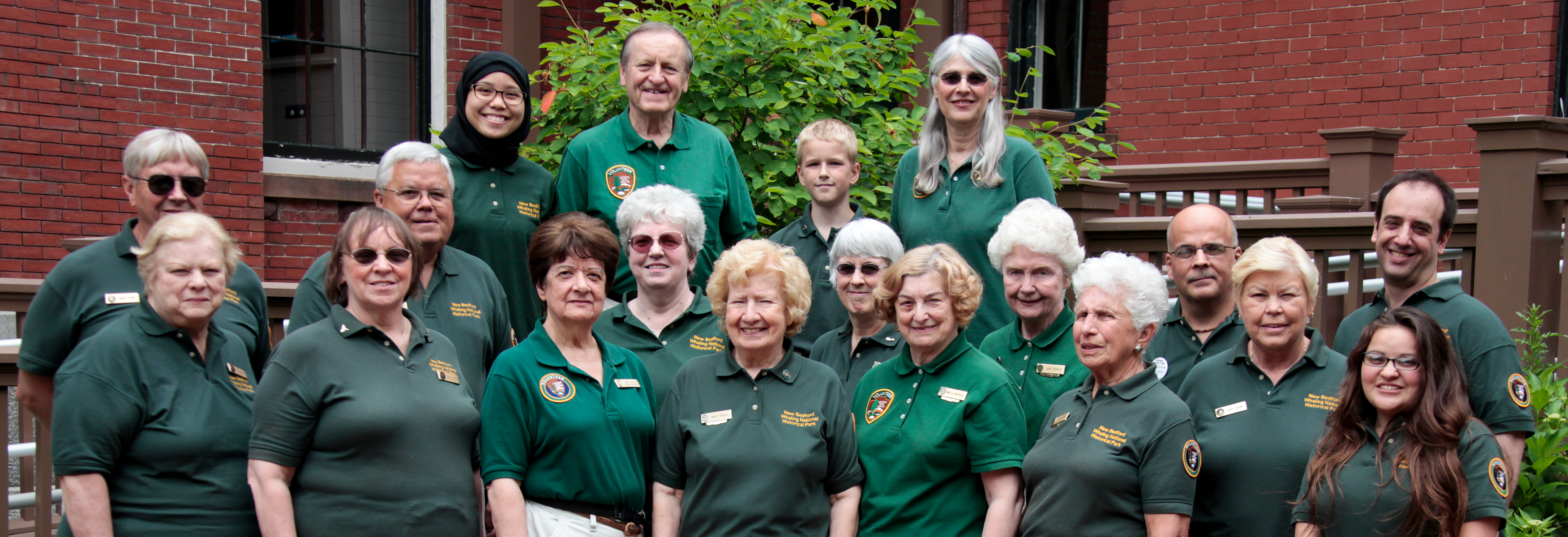 New Bedford Volunteers from 2011