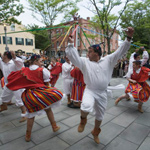 Madeiran Dancers on the Whaling Museum Plaza