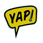 Youth Ambassador Program logo; yellow idea cloud with microphone exclamation point.