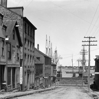 Old photo of Centre Street