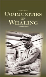 Communities of Whaling exhibit banner