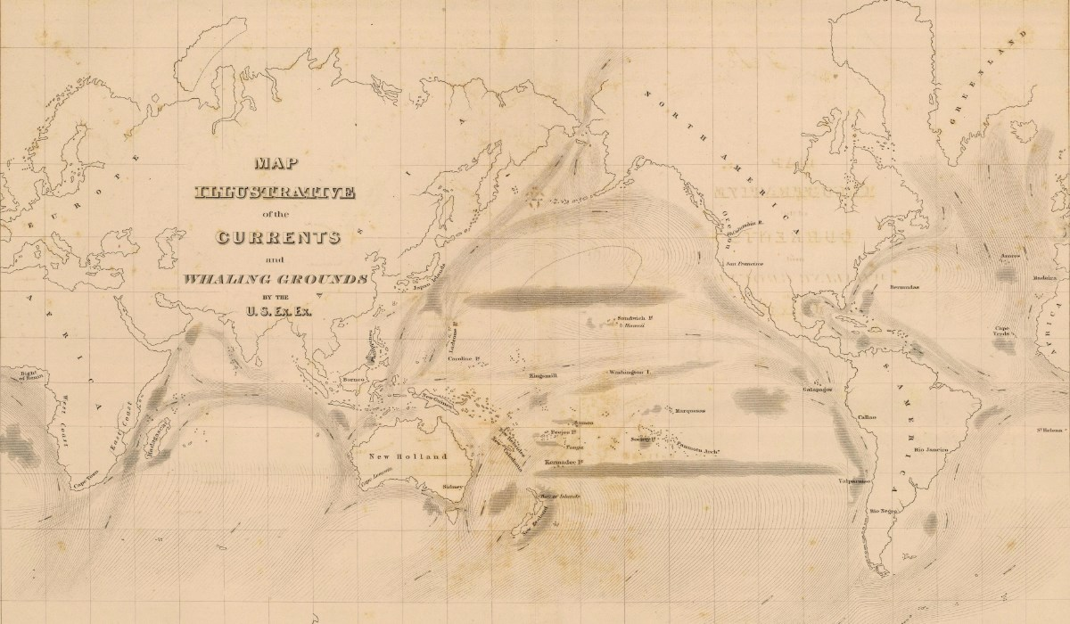 World Knowledge New Bedford Whaling National Historical Park Us - Us-map-1845