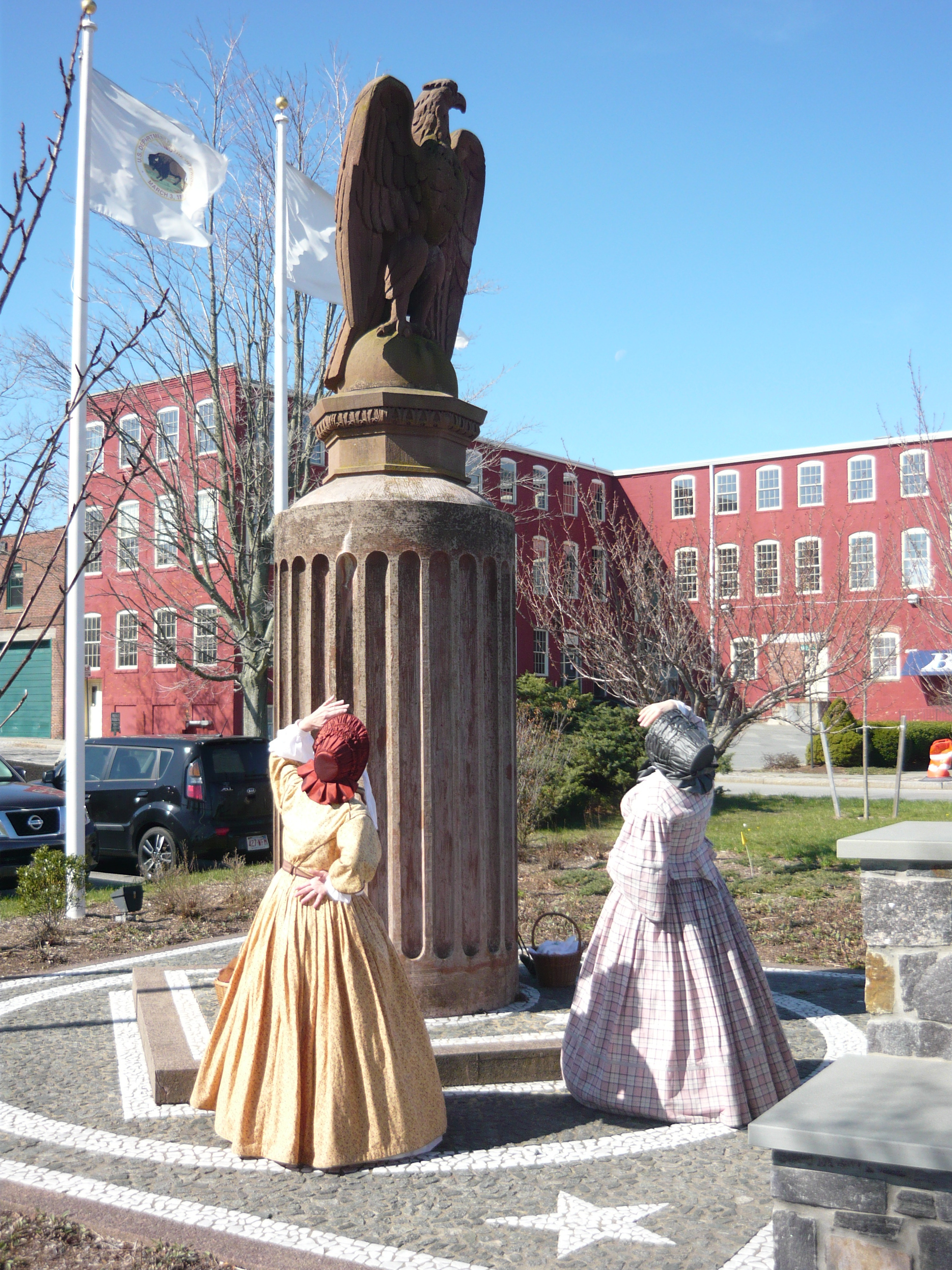 Ruth and Abby in New Bedford