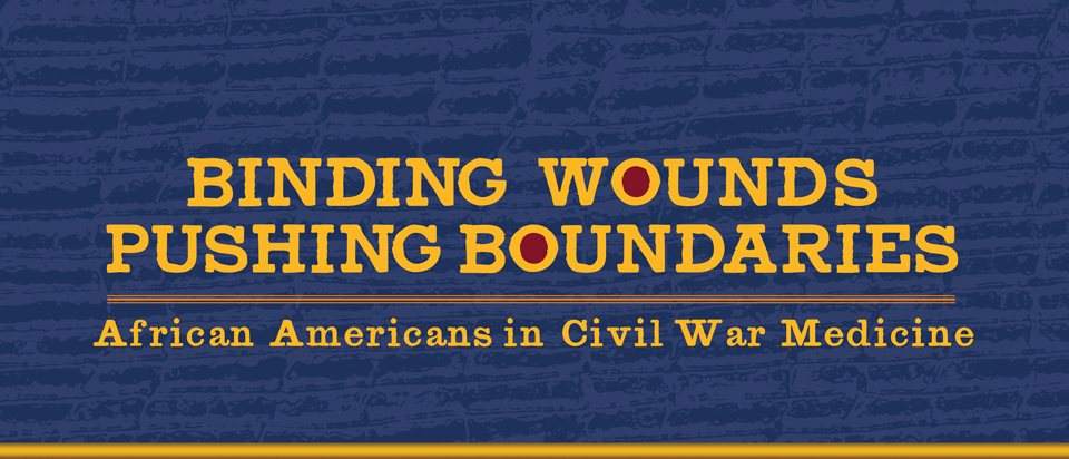 Image of Binding Wounds poster