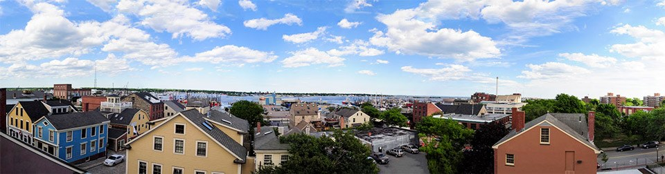 Image of Downtown New Bedford Waterfront