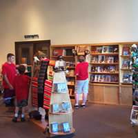 Sales center at Spalding Visitor Center, Nez Perce National Historical Park