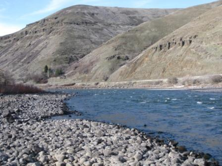 Clearwater River at Spalding site, Idaho