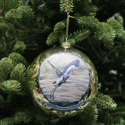 Christmas Ornament for Bluestone National Scenic River