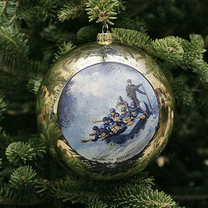 Christmas Ornament for Gauley River NRA