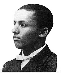 Carter G. Woodson as a young man