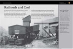 Railroads And Coal wayside exhibit