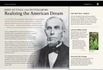 RealizingThe American Dream wayside exhibit
