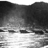 Historic photo of soldiers on the New River