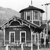 old railroad station