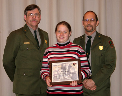Park Partner, Amy Smith, receives award