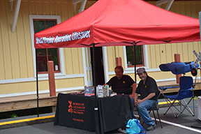 Operation Lifesaver at Thurmond Train Day