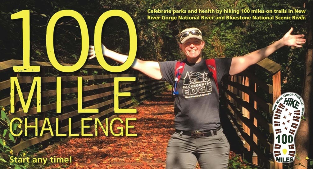 100 Mile Challenge poster