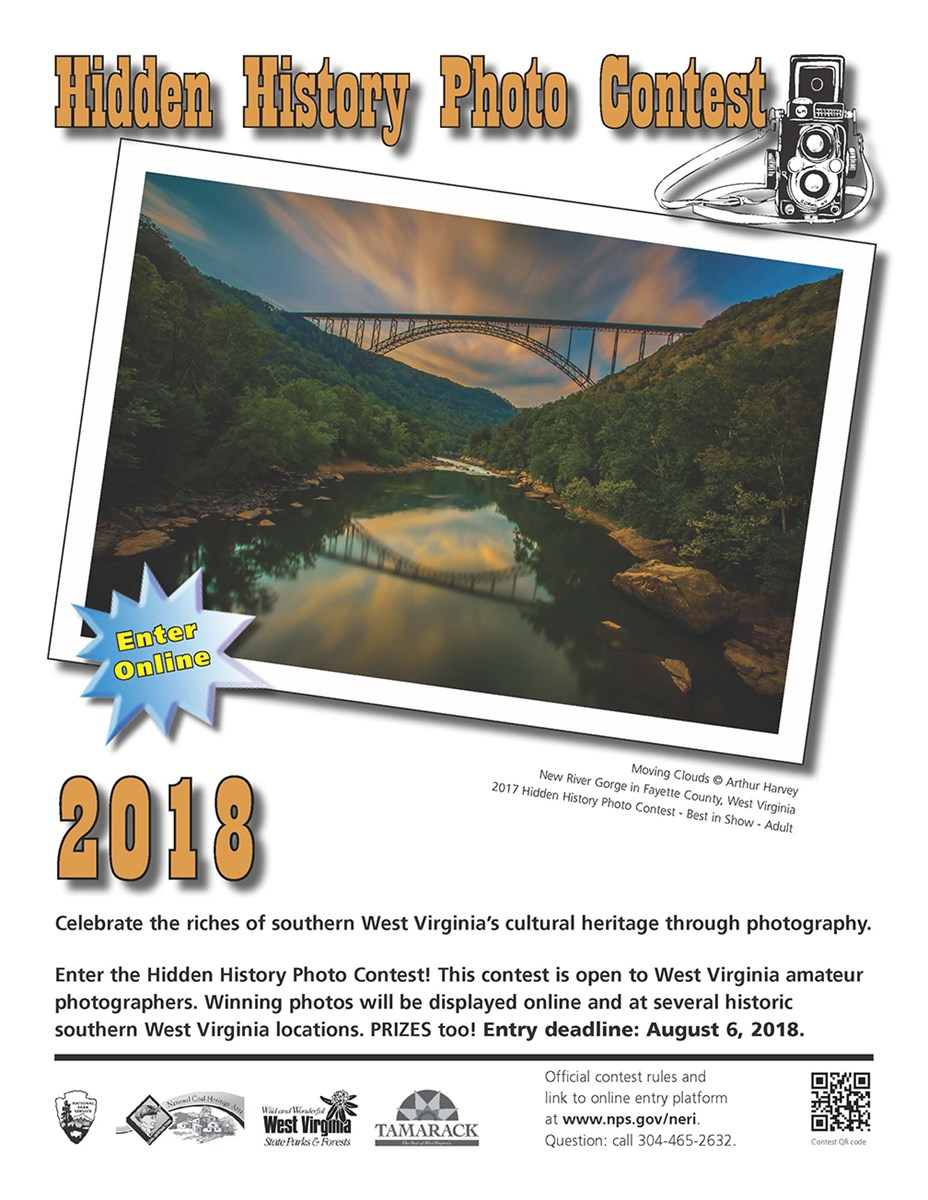 2018 Hidden History Photo Contest poster