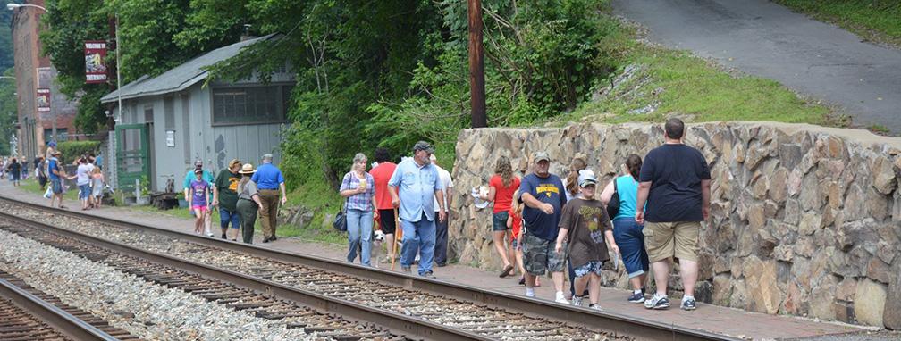 Thurmond Train Day - New River Gorge National River (U.S ...