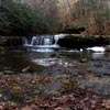 waterfall at Camp Creek State Park