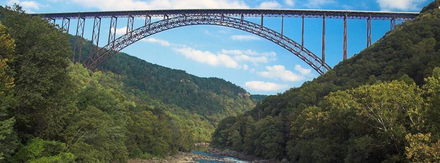 New River Virginia New River Gorge Bridge