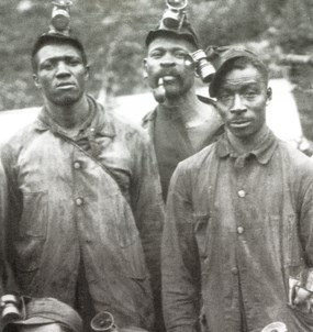 African American coal miners