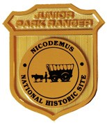 Nicodemus Junior Ranger Badge