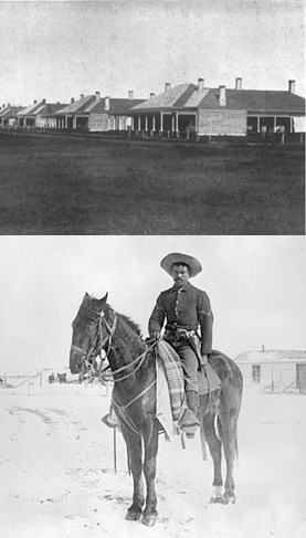 Top: Ft Niobrara - Bottom: Buffalo Soldier