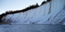 Ice cliffs form when groundwater seeps from cliff faces and freezes