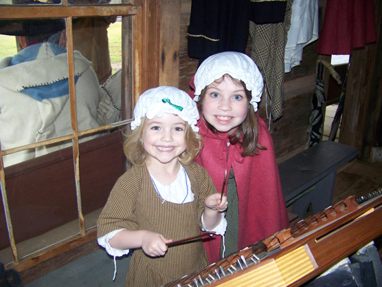 Musical sisters from A Backcountry Holiday 2008