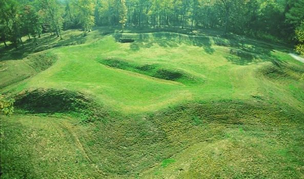 star fort from above
