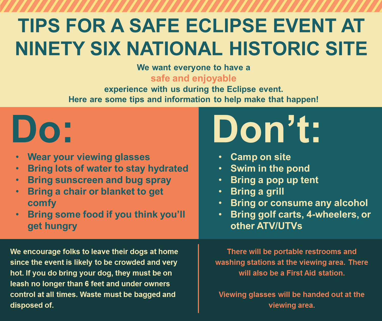 Eclipse Event Tips
