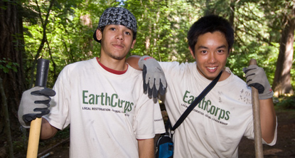 Earthcorps Volunteers