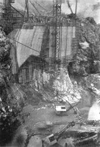 Diablo Dam Construction 1928 Ross Lake N.R.A.