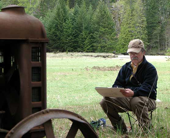 2011 Stehekin Artist-in-Residence Earnest Ward