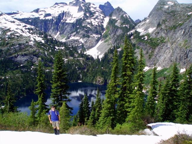 Thornton lake trail north cascades national park u s for Silver lake washington fishing