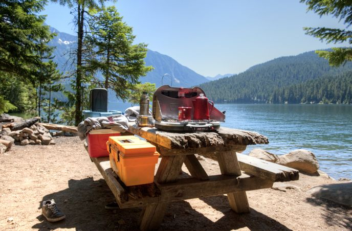 Camping north cascades national park u s national park for Fishing campsites near me