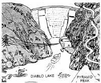 Graphic - Diablo Dam