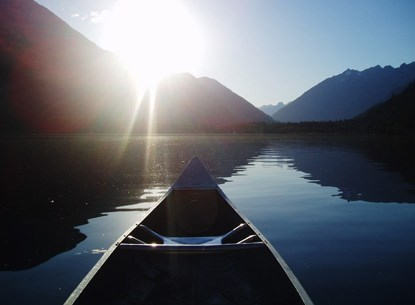 Canoeing in Stehekin