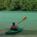 Kayaking on Ross Lake
