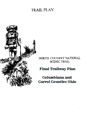 Cover of Final Trailway Implementation Plan for Columbiana and Carroll Counties Ohio