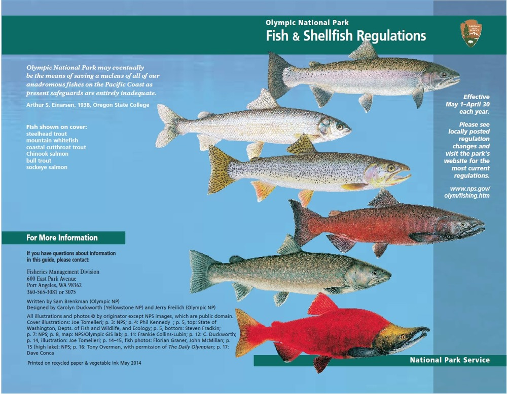 Fishing - Olympic National Park (U S  National Park Service)