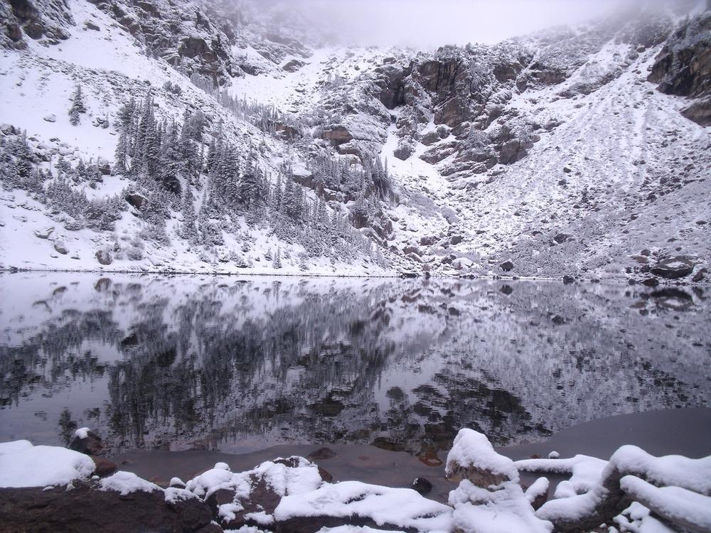 Reflections on Emerald Lake