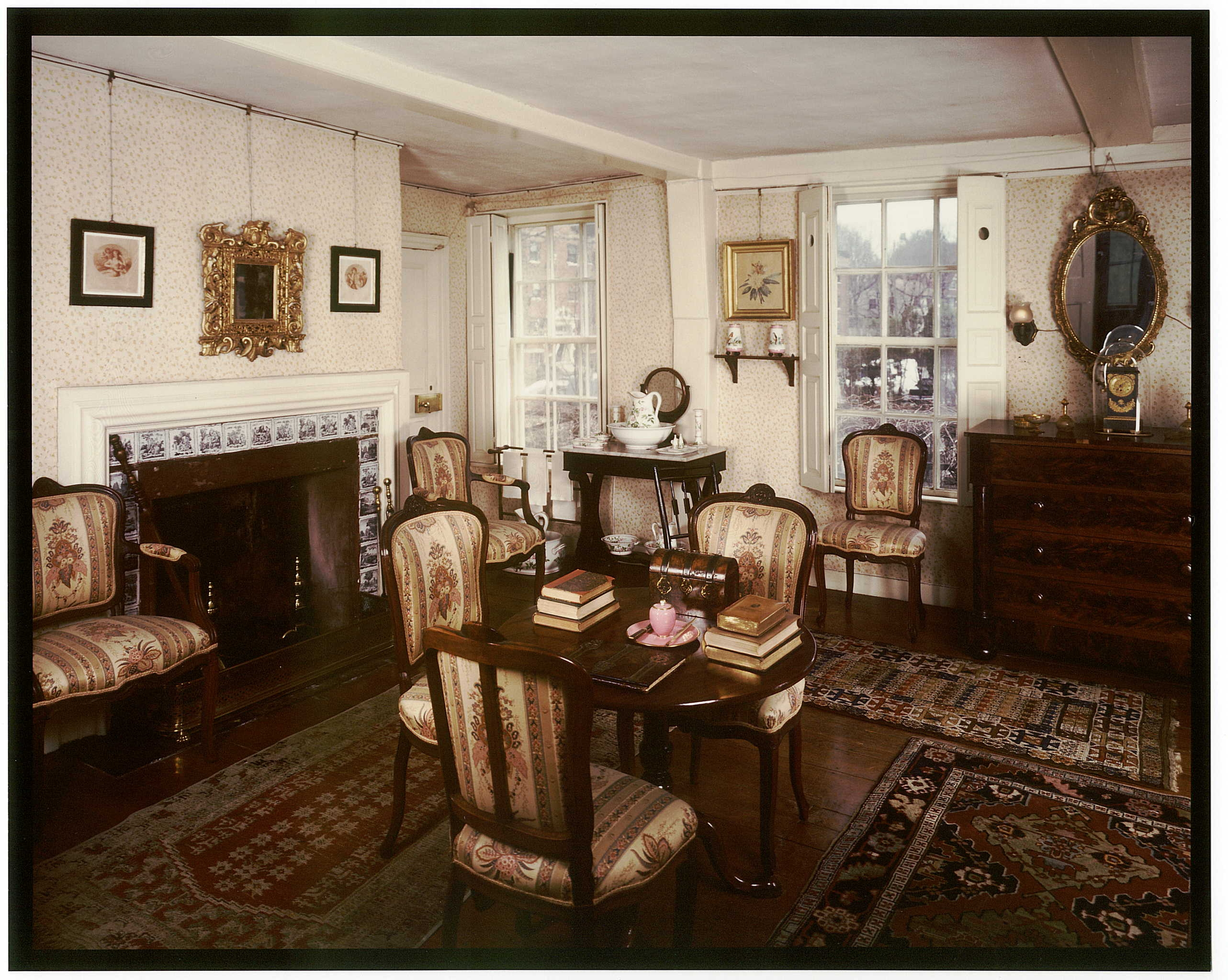 Guest Room Of The Old House, Southeast View